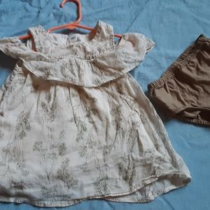 OLD NAVY - Matching top & Bloomers 18-24 mos